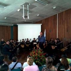 Presentación de la Orquesta de Guitarras